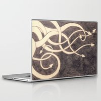 kraken Laptop & iPad Skins featuring Kraken by cepheart