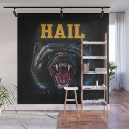 Hail Michigan Wolverine4 Mascot Wall Mural