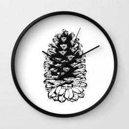 Giant pinecone Wall Clock