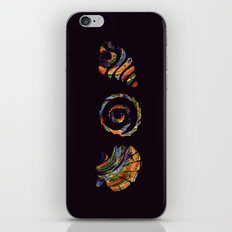 Deep Sea Shell Trio iPhone & iPod Skin