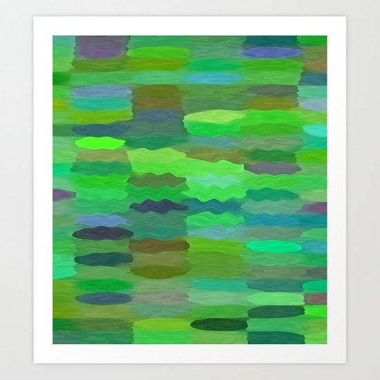 Sea Tones Art Print