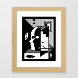 Stairs To The Attic Framed Art Print