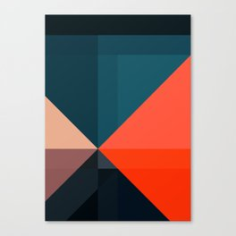 Geometric 1713 Canvas Print