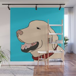 Sage A Yellow Labrador Wall Mural