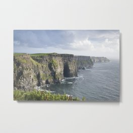 Cliffs of Moher, Clare Coast, Ireland Metal Print