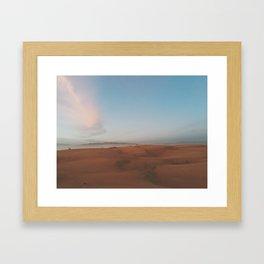 OCEANO DUNES Framed Art Print