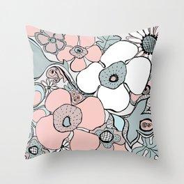 Doodle 1 Throw Pillow