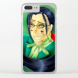 Butler Grell Colour Challenge Clear iPhone Case