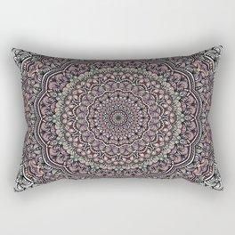 Pastel colors mandala Sophisticated ornament Rectangular Pillow