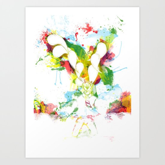 Colorful Soul Art Print