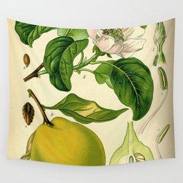 Botanical Print Wall Tapestry