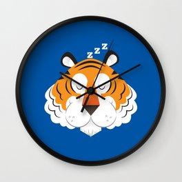 Sleeping Tiger Wall Clock