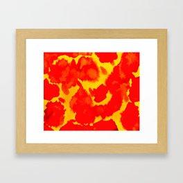 Twin Flame Framed Art Print