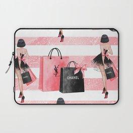 Fashion girl shopping Laptop Sleeve