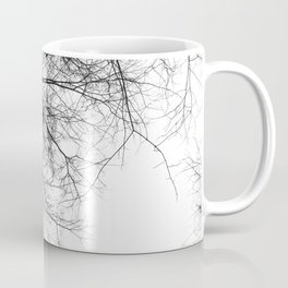 Bare Branches Hold Heart Nest Coffee Mug
