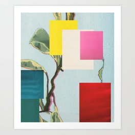 Untitled 20170722t (Arrangement) Art Print