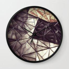 Geometric confusion #07 Wall Clock