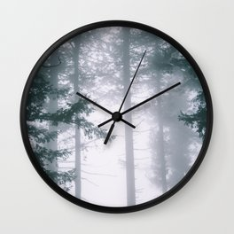 Moody Forest II Wall Clock