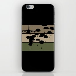 Airborne Jump iPhone Skin