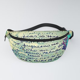 The Fire Next Time Fanny Pack