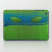 tmnt iPad Cases featuring TMNT Leo by Some_Designs