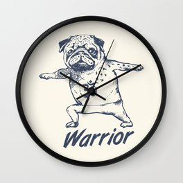 Be a Warrior Wall Clock