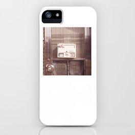 Silver Gate iPhone Case