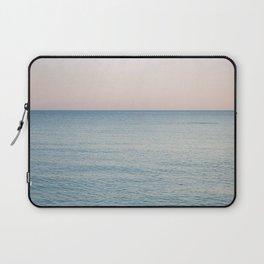 PINK SKY, BLUE SEA, EVENING SWIM Laptop Sleeve