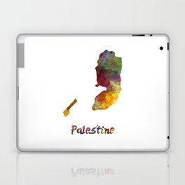 Palestine in watercolor Laptop & iPad Skin