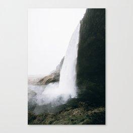 Waterfall II / Seljalandsfoss, Iceland Canvas Print