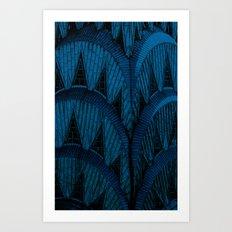 Chrysler Spire Blue Art Print
