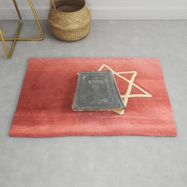 Religious torah book ancient classics Rug