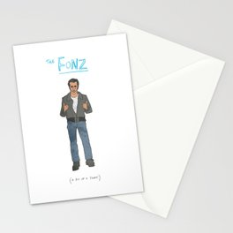 The Fonz Stationery Cards