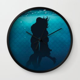 The Shape Of Water Wall Clock