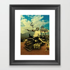 Hunter S Framed Art Print
