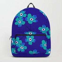 Forget-me-nots - Blue Backpack