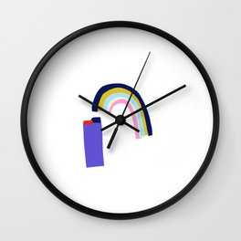 crap Wall Clock
