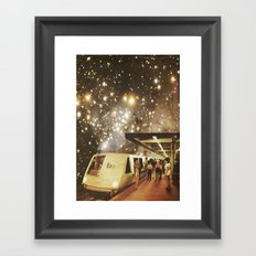 Enter the night  Framed Art Print
