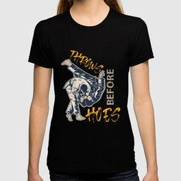 Funny Judo Design T-shirt