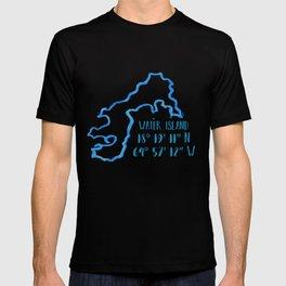 Water Island coordinates T-shirt