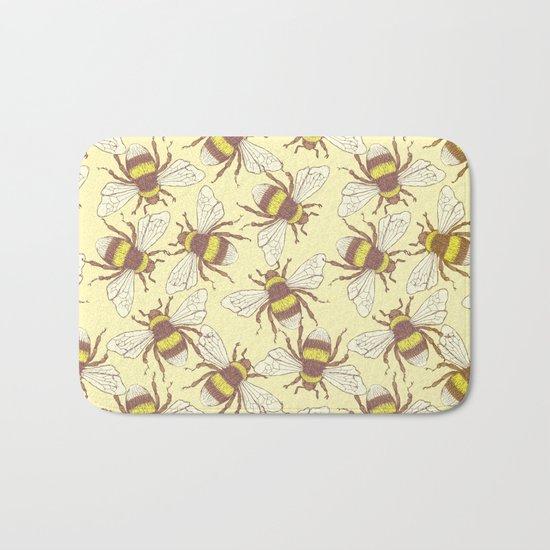 Bees! Bath Mat