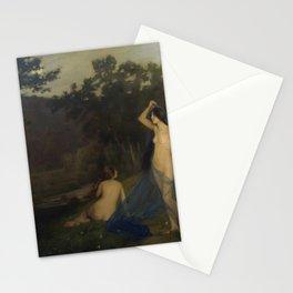 Joan Brull Vinyoles - Las ninfas del ocaso Stationery Cards