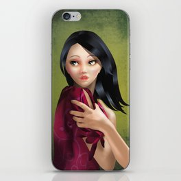 Constance - A scary tale - 2nd edition iPhone Skin