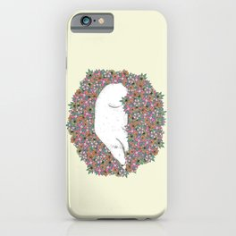 Bear in the Flowers iPhone Case