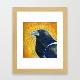 Spirit Crow Framed Art Print