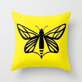 Bee Free Throw Pillow
