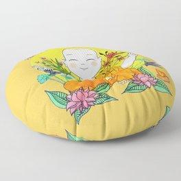 The Buddhist Monk Floor Pillow