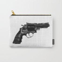 8bit glitch .357 Magnum Revolver  Carry-All Pouch