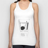 vodka Tank Tops featuring Cherry Vodka  by Lucas Hayas