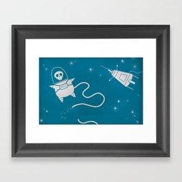 Dead in Space Framed Art Print
